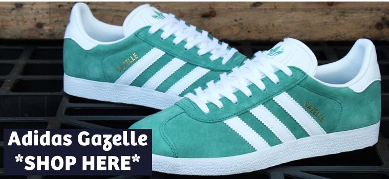 adidas Gazelle Light Green