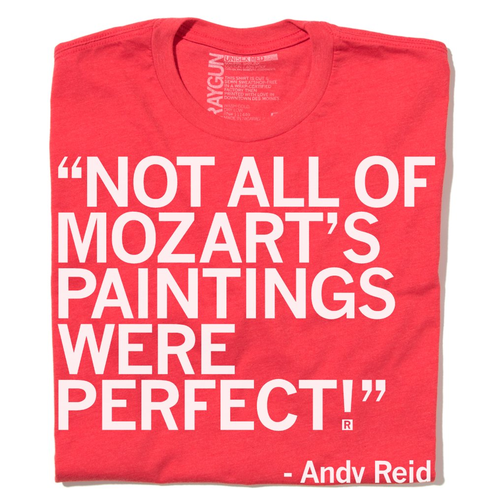 Andy Reid Mozart Paintings White & Red