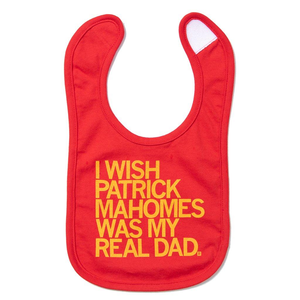 Wish Patrick Mahomes Was My Dad Bib