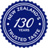 NEW ZEALAND 130 YEAR TRUSTED TESTE