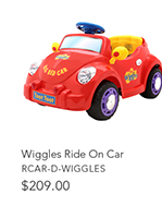 Wiggles Ride On Car