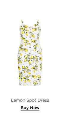 Lemon Spot Dress