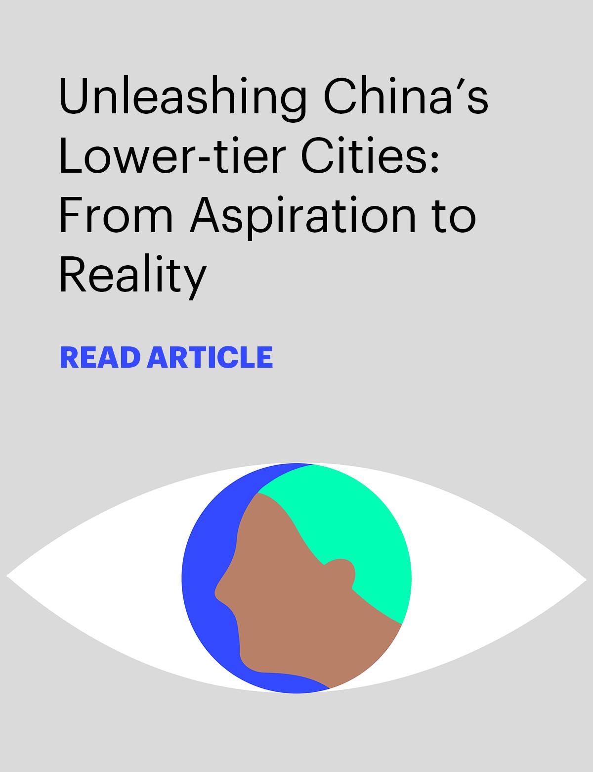 Unleashing China's lower-tier cities