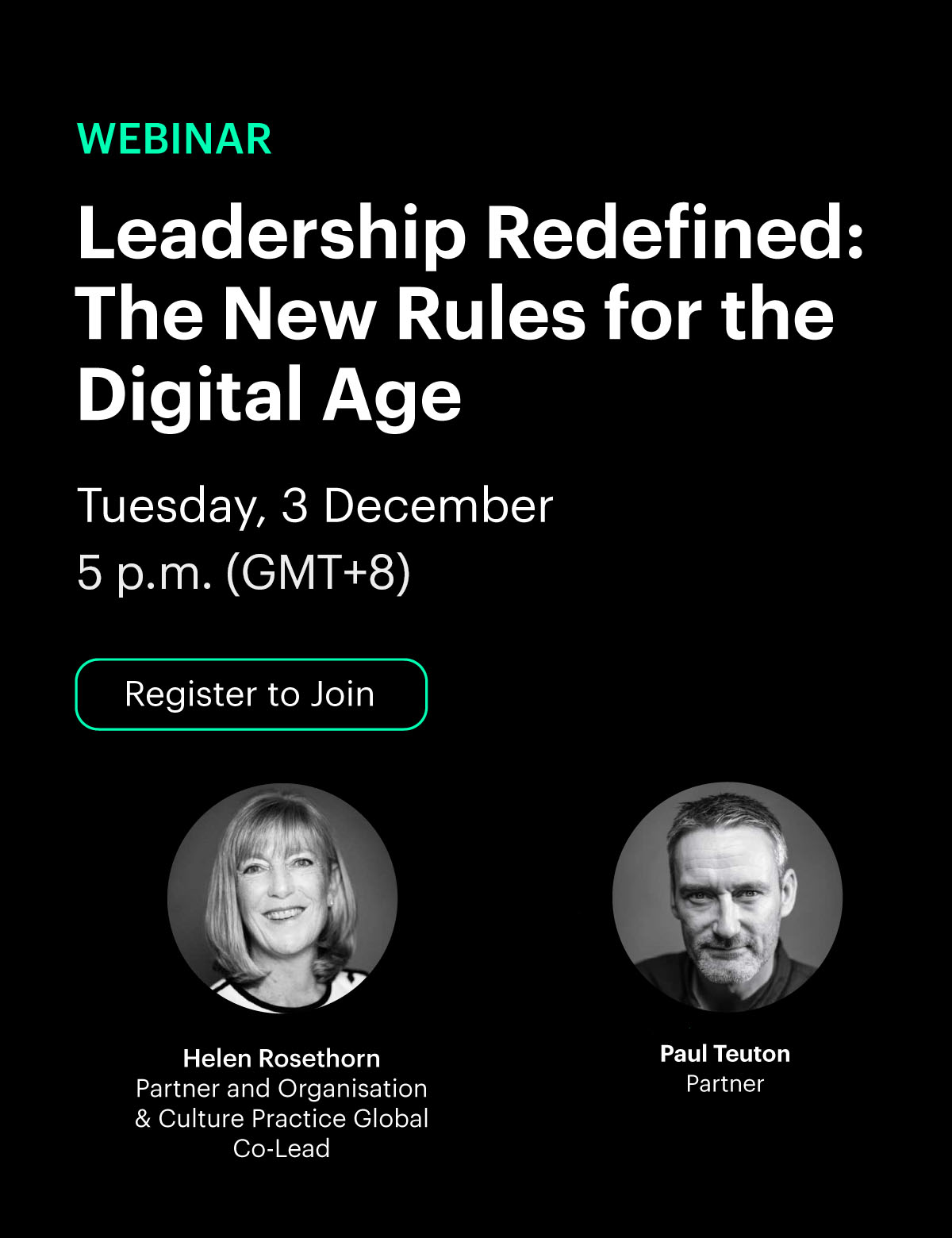 [Webinar] Leadership redefined: the new rules for the digital age