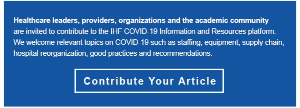 Contribute to the IHF COVID-19 Information and Resources platform