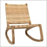 Noir Las Palmas Chair Teak