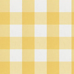 Fabricut Camping Check Lemon Dabric