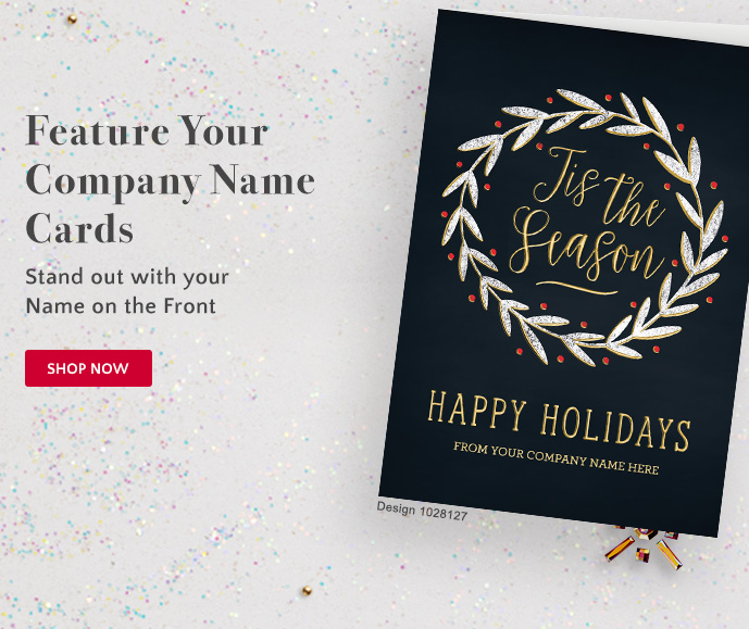 Feature Your Company Name Cards: Stand out with your Name on the Front - Shop Now
