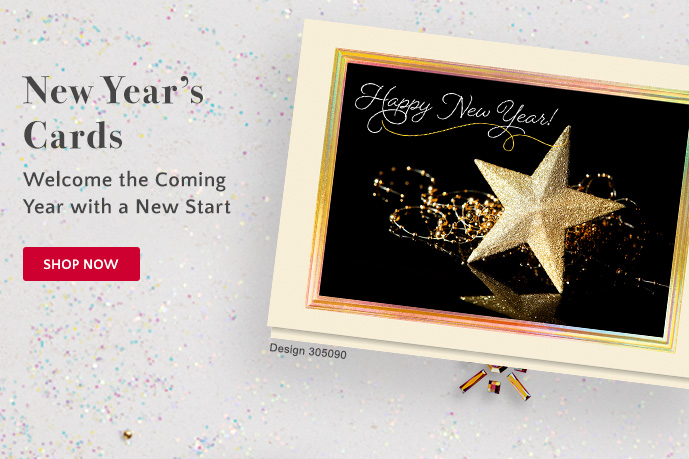 New Year''s Cards: Welcome the Coming Year with a New Start - Shop Now