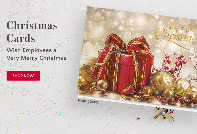 Christmas Cards: Wish Employess a Very Merry Christmas - Shop Now