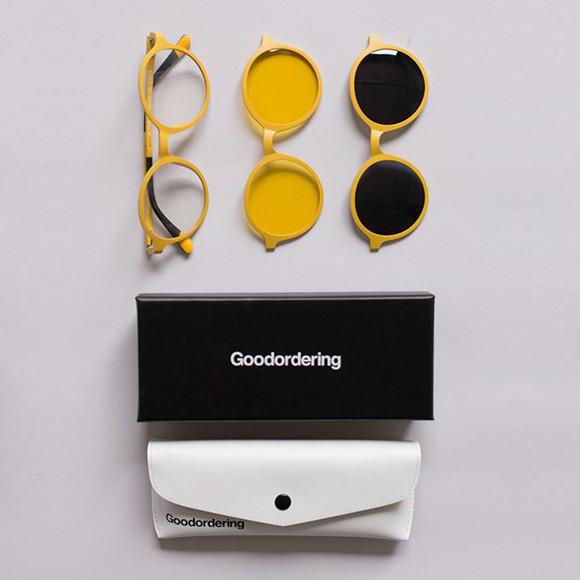 Multi-Lens Magnetic Glasses Yellow