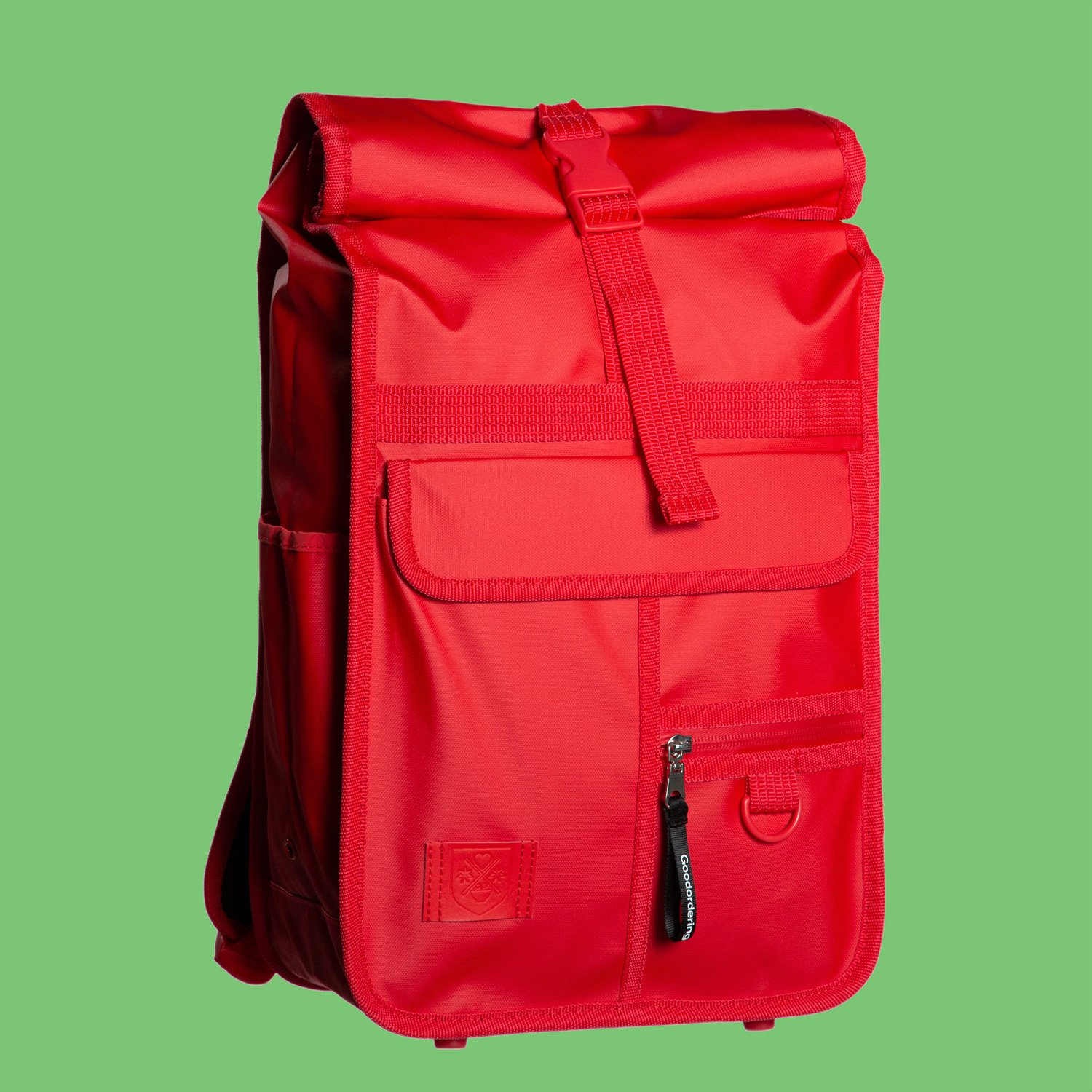 Monochrome Rolltop Backpack Mini Red