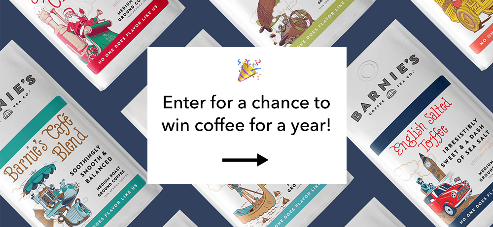 Coffee for a year giveaway!