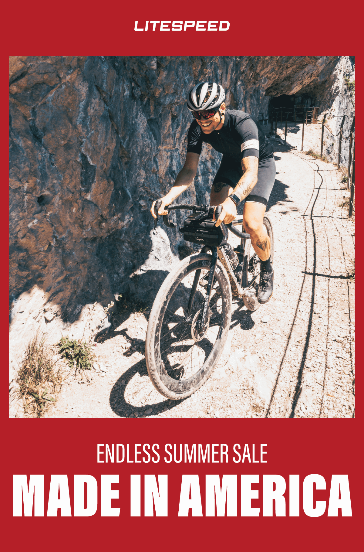 The Litespeed Endless Summer Sale starts now. Shop made-in-the-USA titanium bikes on sale now.
