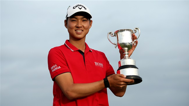 Vic Open triumph for Min Woo Lee