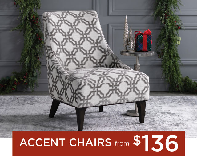 Accent Chairs from $136