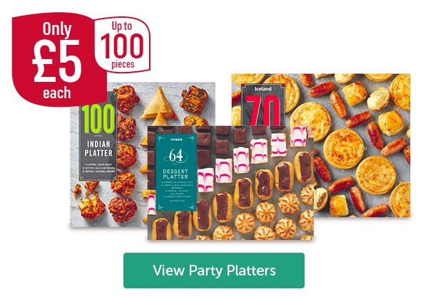 Only �each Up To 100 Pieces Indian Platter 100 Piece Iceland Buffet Platter 70 Piece Dessert Platter 64 Piece View Party Platters