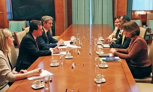 NEA high-level visit to Romania, February 2020