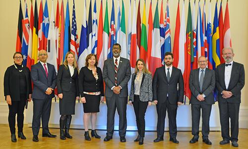 Inaugural session of the European Nuclear Energy Tribunal 10th mandate, February 2020
