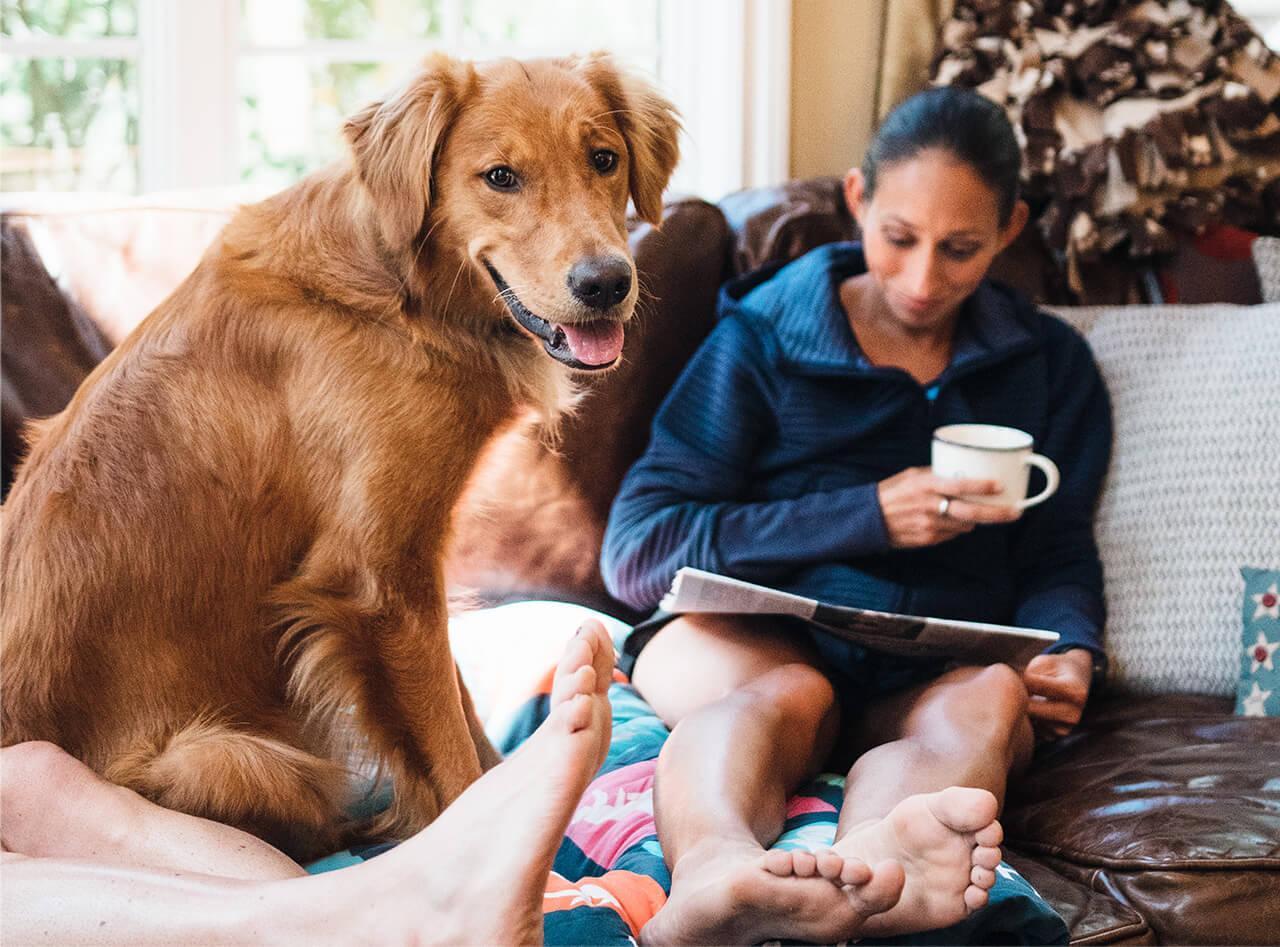 Des Linden & Doggie