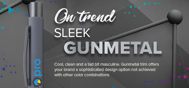 On Trend: Sleek Gunmetal