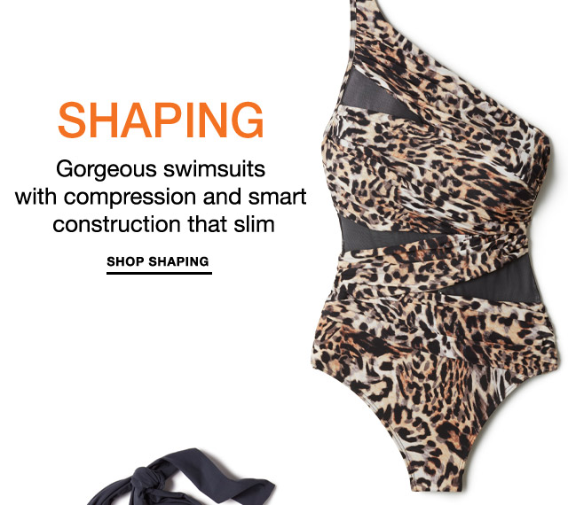Shop shaping swimwear