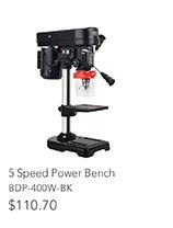 5 Speed Power Bench