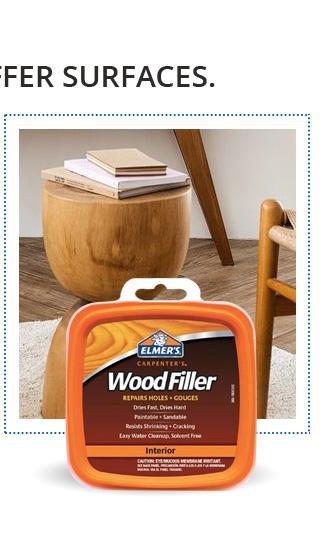 Elmer''s Products, Inc E848D12 Carpenter''s Wood Filler, 1/2 Pint