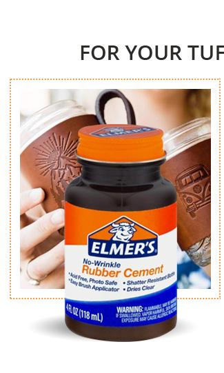 Elmer''S Rubber Cement Adhesive, 4 Oz, Pack Of 3 (E904)