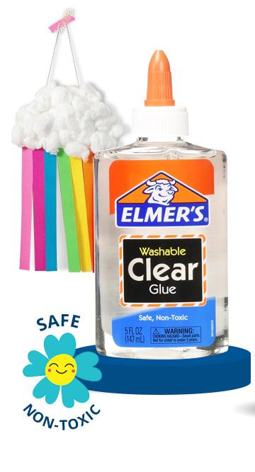 Elmer''S Washable Clear Glue 4 Count