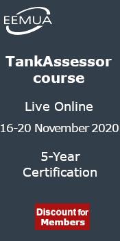 EEMUA TankAssessor Course - Live Online November 2020