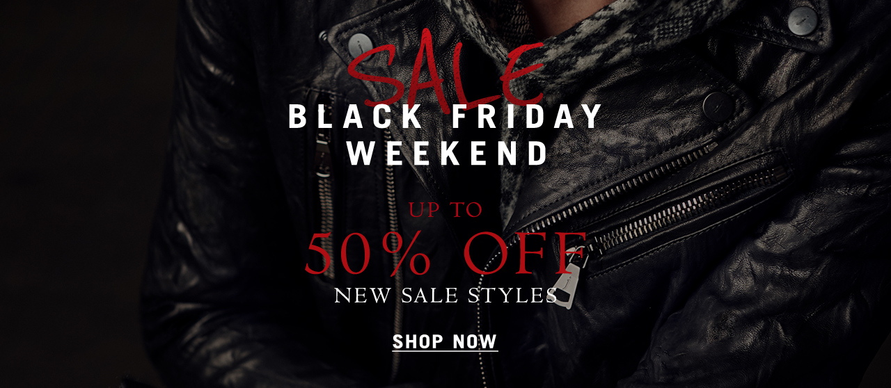 Black Friday weekend - Up to 50% off - New sale styles