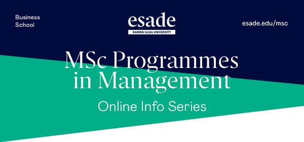 MSc Programmes Infoseries