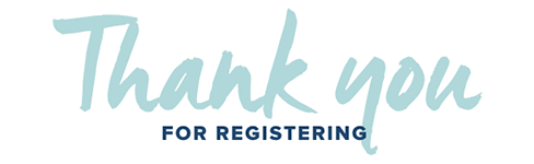 Thank you for registering!