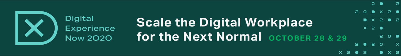 Digital Experience Now 2020