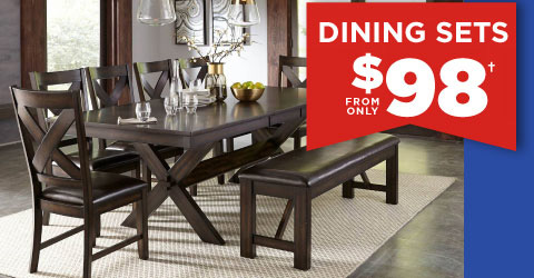Dining Sets from only $98