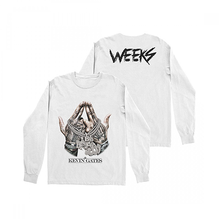 Kevin Gates - WEEKS Chain Long Sleeve T-Shirt