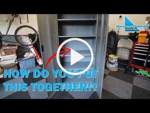 How to Assemble Secure Storage Cabinets - FEDMAX | DIY With Bob