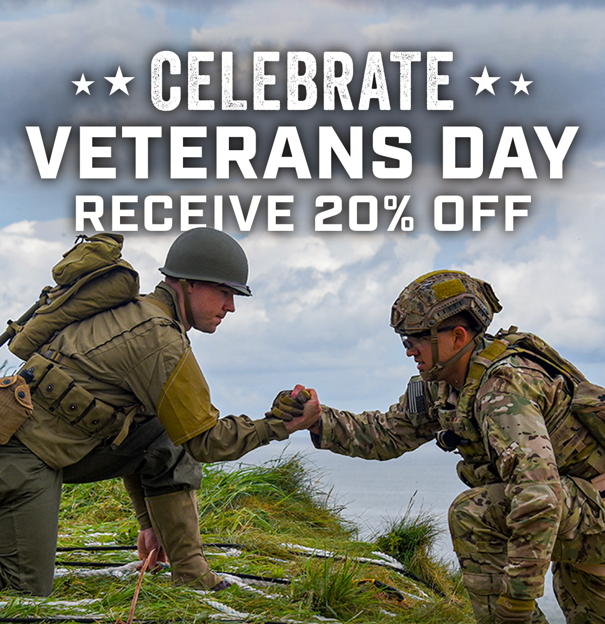 Celebrate Veterans Day with 20% Off