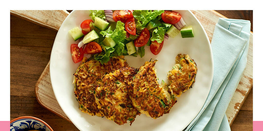 Very veggie fritters