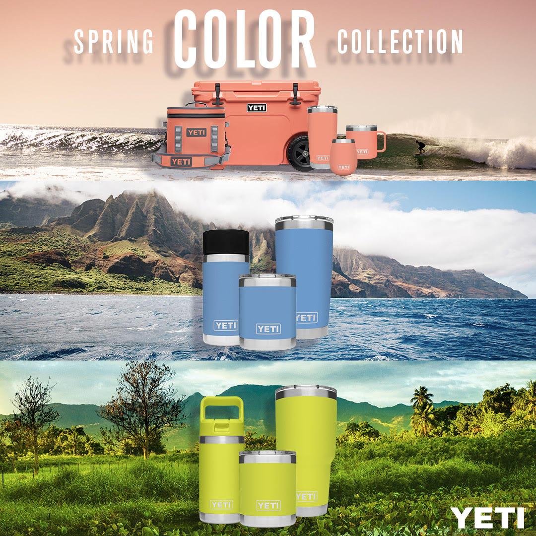 New Yeti Colors