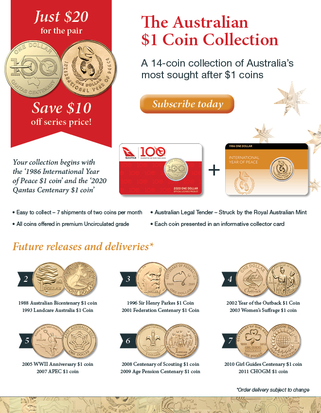 The Australian $1 Coin Collection