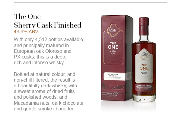 The One Sherry Cask Finished