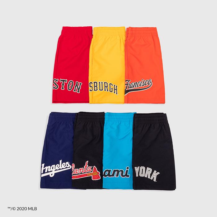 New Era Cap | Eric Emanuel MLB Shorts | Right Hip