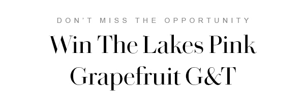 Win The Lakes Pink Grapefruit G&T