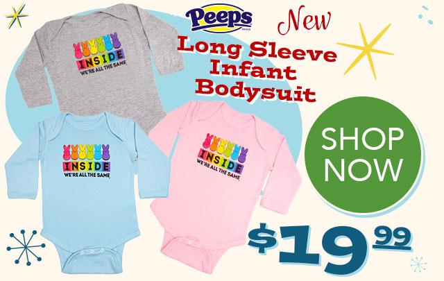 PEEPS 'Inside We're All the Same' Infant Long-Sleeved Bodysuit - $19.99 - SHOP NOW
