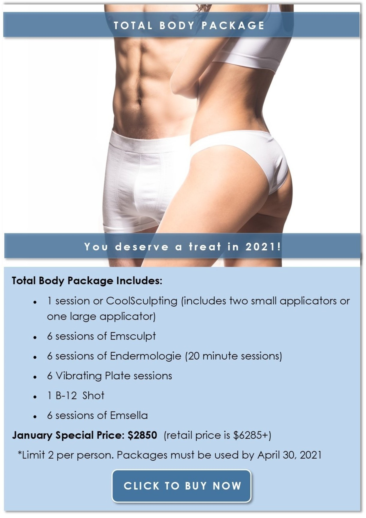Purchase the Total Body Package