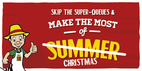 Skip the super-queues and make the most of Christmas!