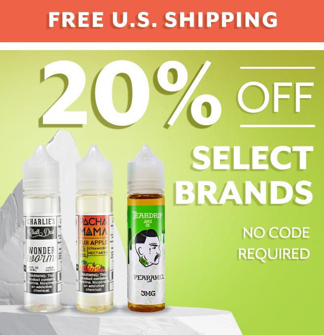 Save On Bestselling Eliquid Flavors