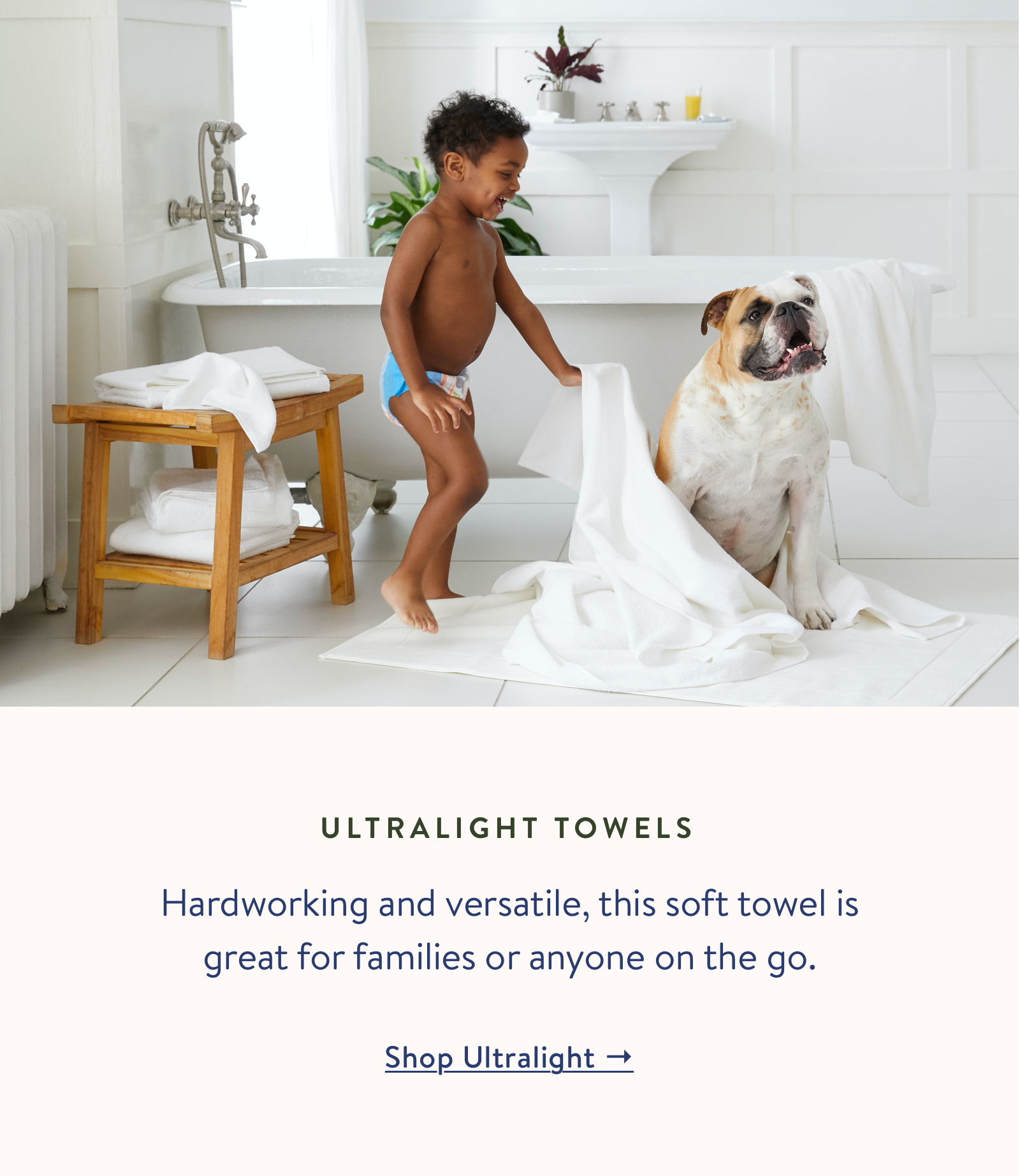 Shop our Ultralight Towels